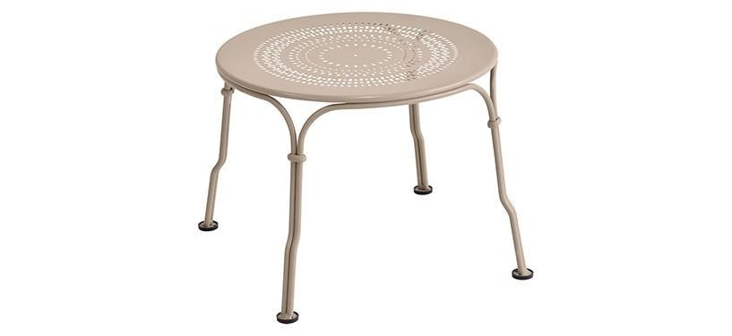 Fermob 1900 Low Table · Nutmeg