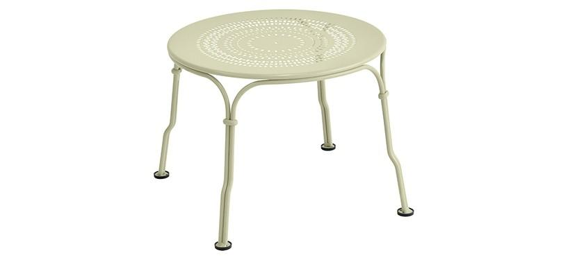 Fermob 1900 Low Table · Willow Green