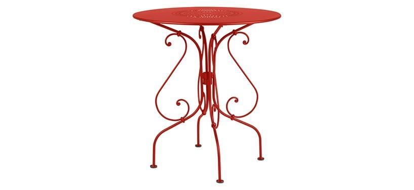 Fermob 1900 Pedestal Table · Capucine