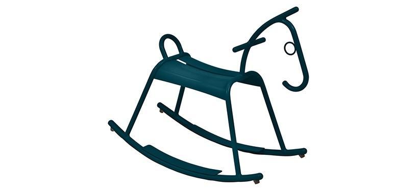 Fermob Adada Rocking Horse · Acapulco Blue