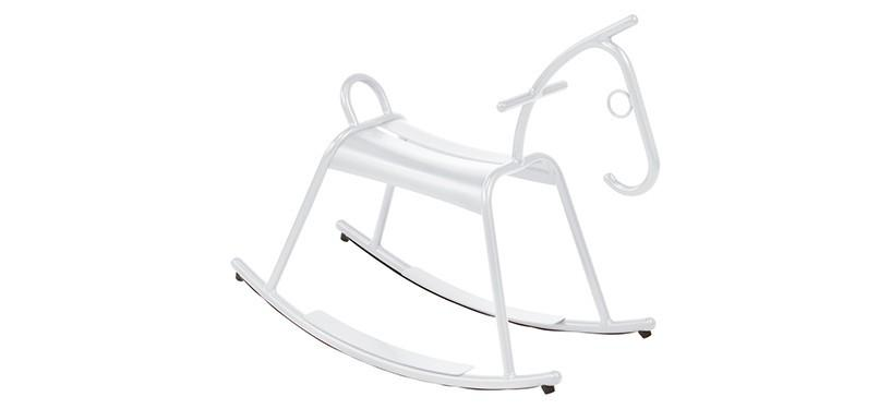 Fermob Adada Rocking Horse · Cotton White