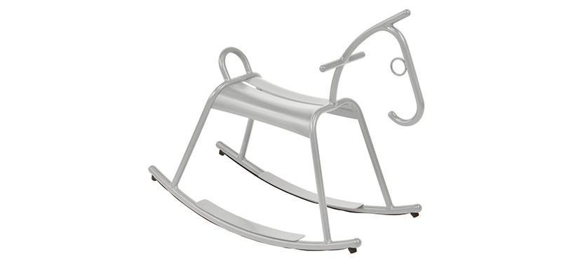 Fermob Adada Rocking Horse · Steel Grey