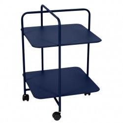 Fermob Alfred Pedestal Table · Deep Blue