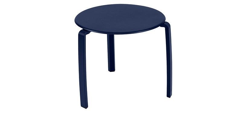 Fermob Alizé Low Table · Deep Blue