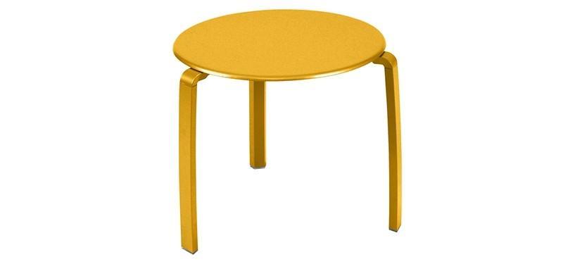 Fermob Alizé Low Table · Honey