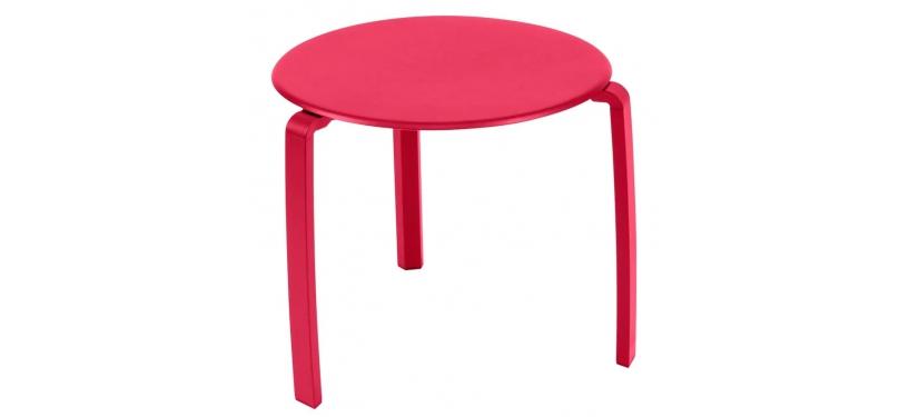 Fermob Alizé Low Table · Pink Praline
