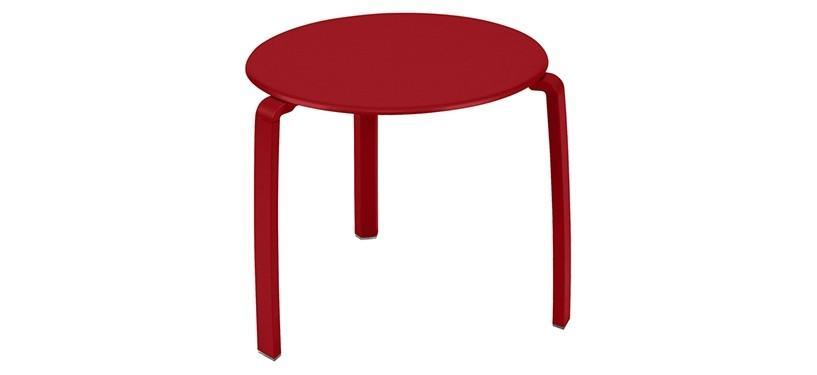 Fermob Alizé Low Table · Poppy