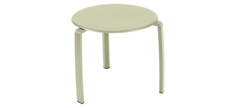 Fermob Alizé Low Table · Willow Green