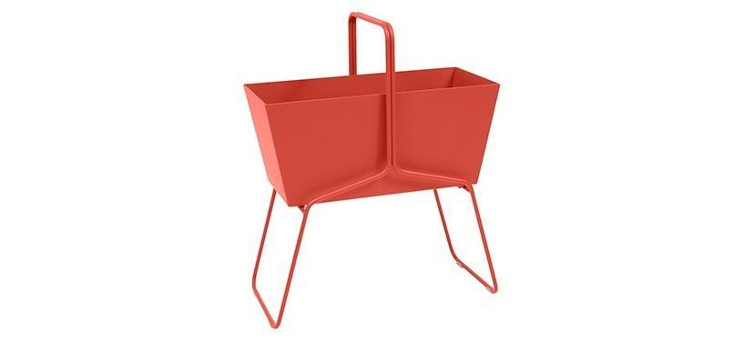 Fermob Basket High Planter · Capucine