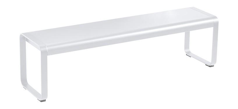 Fermob Bellevie Bench · Cotton White