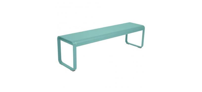 Fermob Bellevie Bench · Lagoon Blue