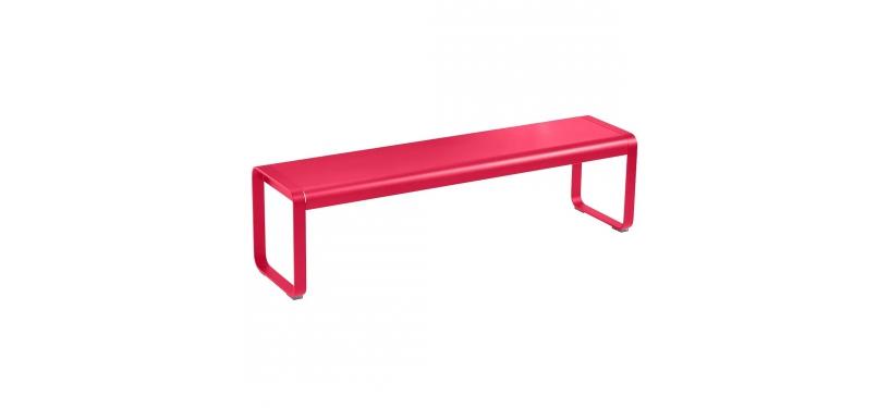 Fermob Bellevie Bench · Pink Praline