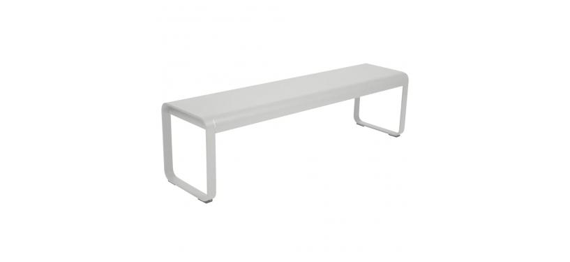 Fermob Bellevie Bench · Steel Grey