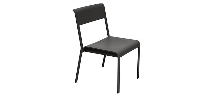 Fermob Bellevie Chair · Liquorice
