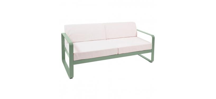 Fermob Bellevie Sofa · 2 personer · Cactus/Off-white