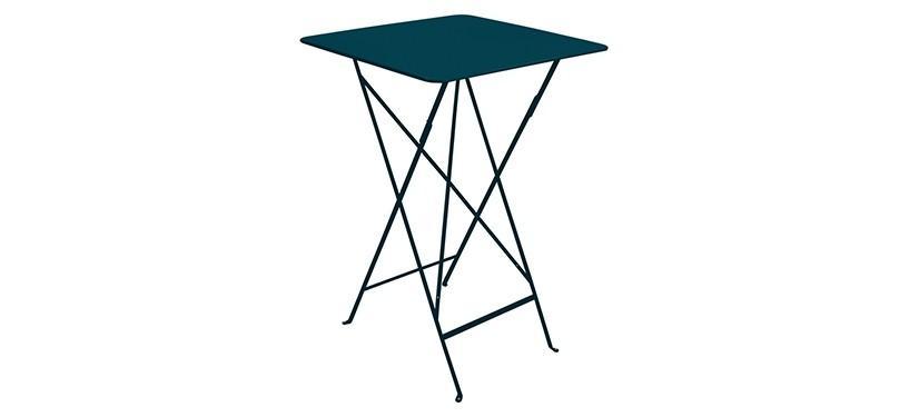 Fermob Bistro High Table · Acapulco Blue