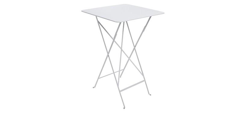 Fermob Bistro High Table · Cotton White