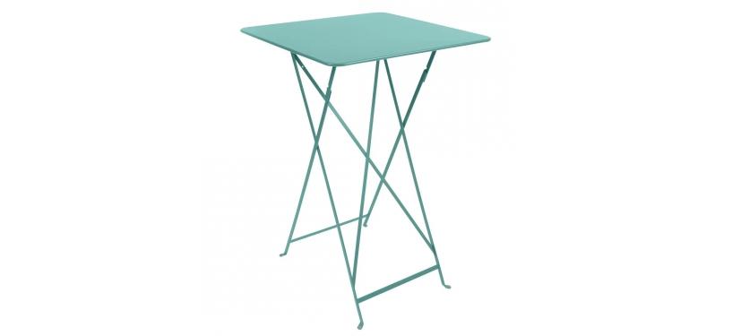 Fermob Bistro High Table · Lagoon Blue