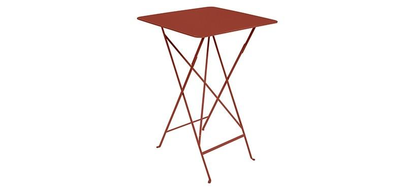 Fermob Bistro High Table · Red Ochre