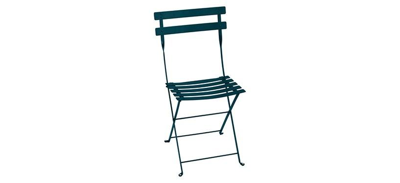 Fermob Bistro Metal Chair · Acapulco Blue