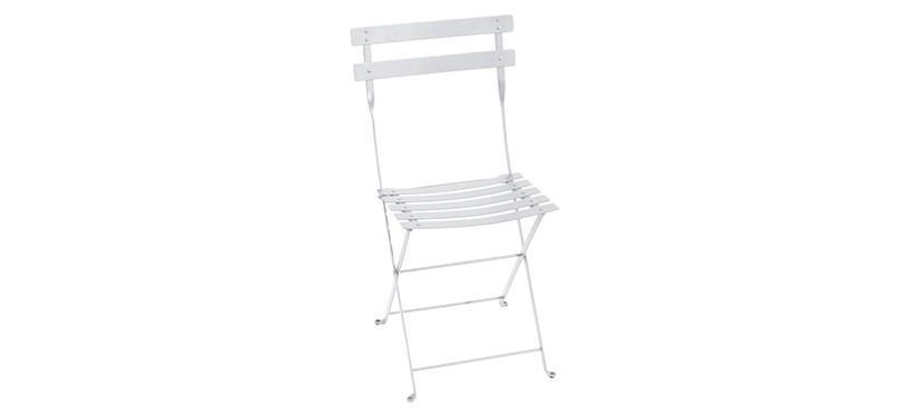 Fermob Bistro Metal Chair · Cotton White
