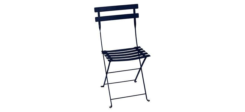 Fermob Bistro Metal Chair · Deep Blue