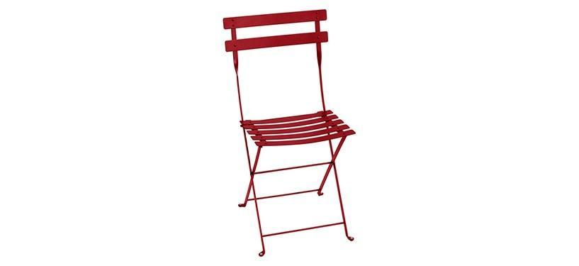 Fermob Bistro Metal Chair · Poppy