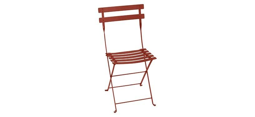 Fermob Bistro Metal Chair · Red Ochre