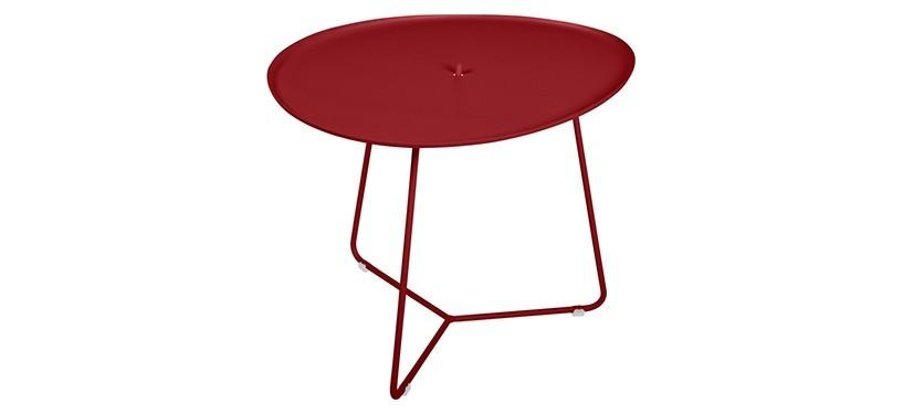 Fermob Cocotte Low Table · Chili