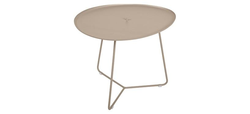 Fermob Cocotte Low Table · Nutmeg