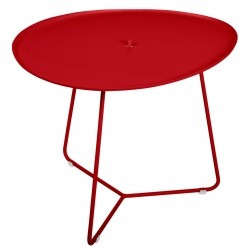 Fermob Cocotte Low Table · Poppy
