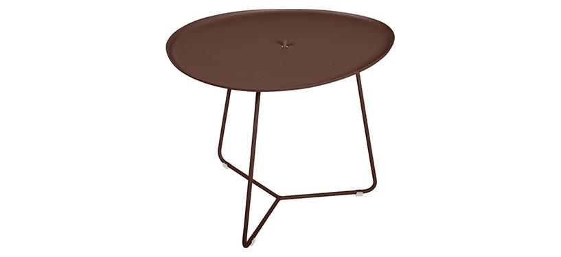 Fermob Cocotte Low Table · Russet