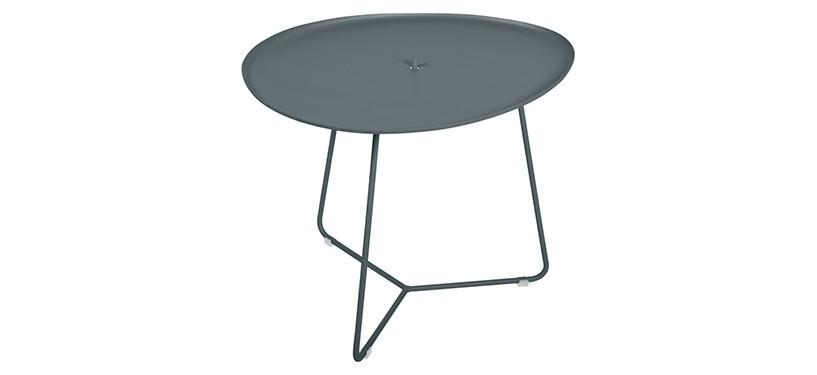 Fermob Cocotte Low Table · Storm Grey