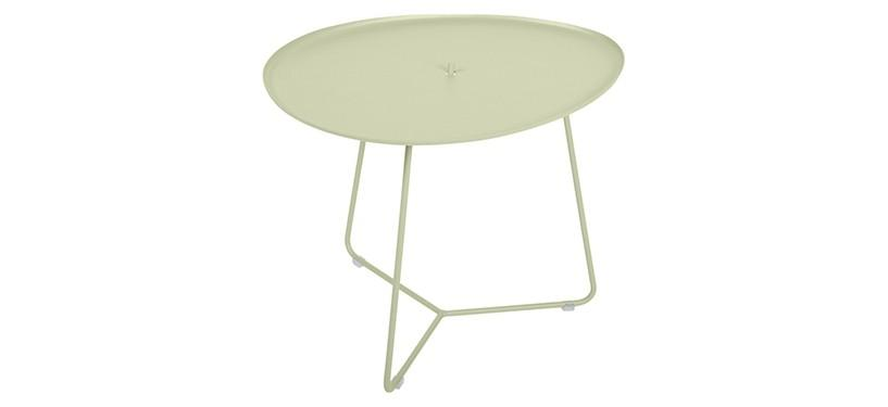 Fermob Cocotte Low Table · Willow Green