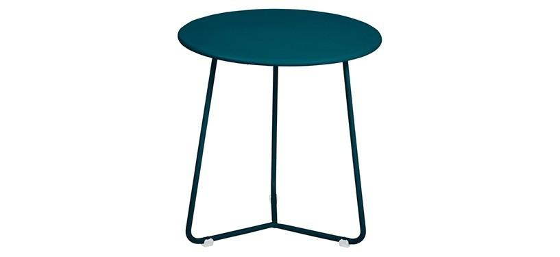 Fermob Cocotte Occasional Table · Acapulco Blue