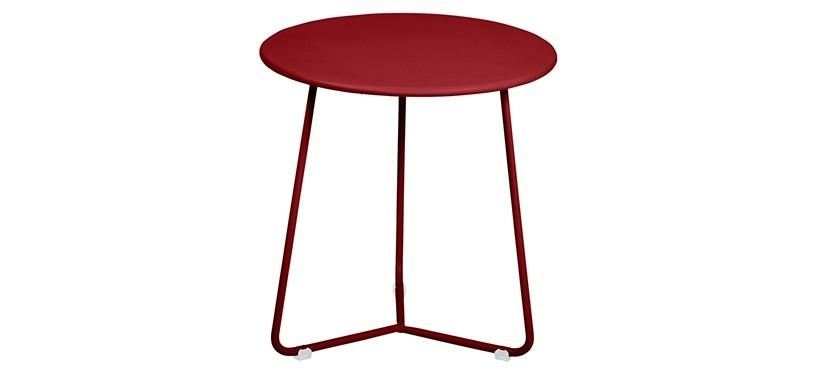 Fermob Cocotte Occasional Table · Chili
