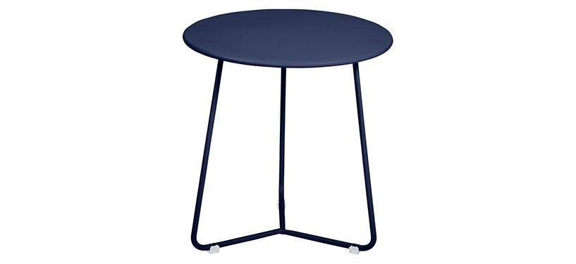 Fermob Cocotte Occasional Table · Deep Blue