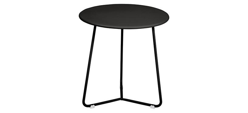 Fermob Cocotte Occasional Table · Liquorice