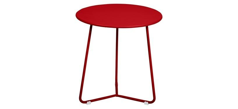 Fermob Cocotte Occasional Table · Poppy