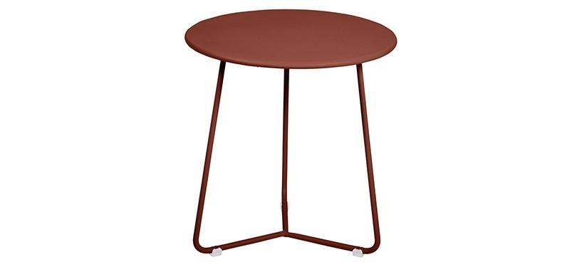 Fermob Cocotte Occasional Table · Red Ochre