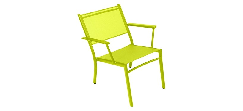 Fermob Costa Low Armchair · Verbena