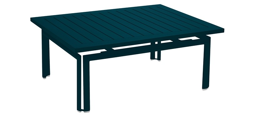 Fermob Costa Low Table · Acapulco Blue