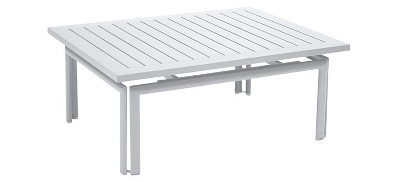 Fermob Costa Low Table · Cotton White