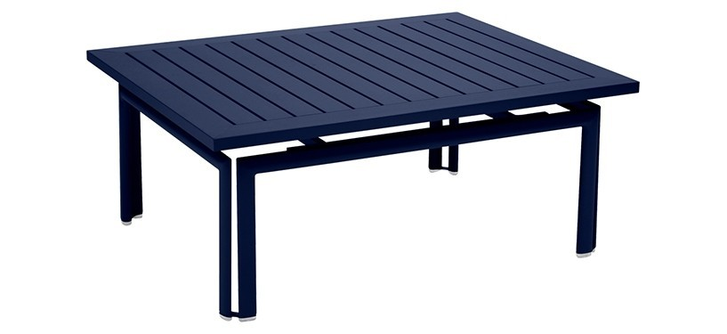 Fermob Costa Low Table · Deep Blue