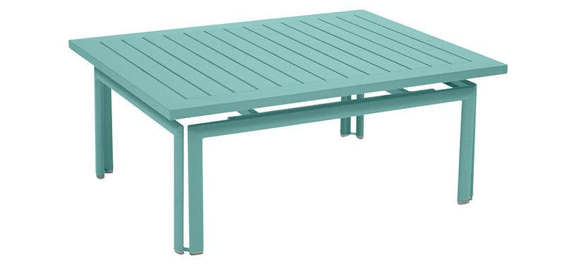 Fermob Costa Low Table · Lagoon Blue