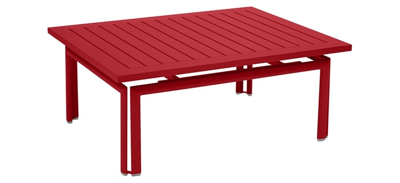 Fermob Costa Low Table · Poppy