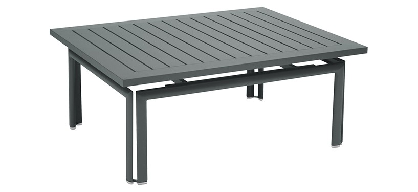 Fermob Costa Low Table · Storm Grey