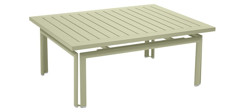 Fermob Costa Low Table · Willow Green