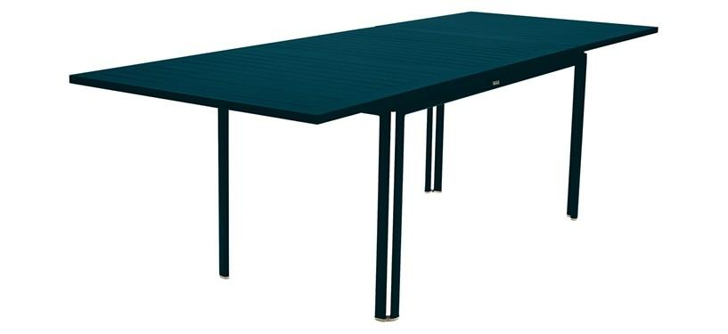 Fermob Costa Table with Extension · Acapulco Blue