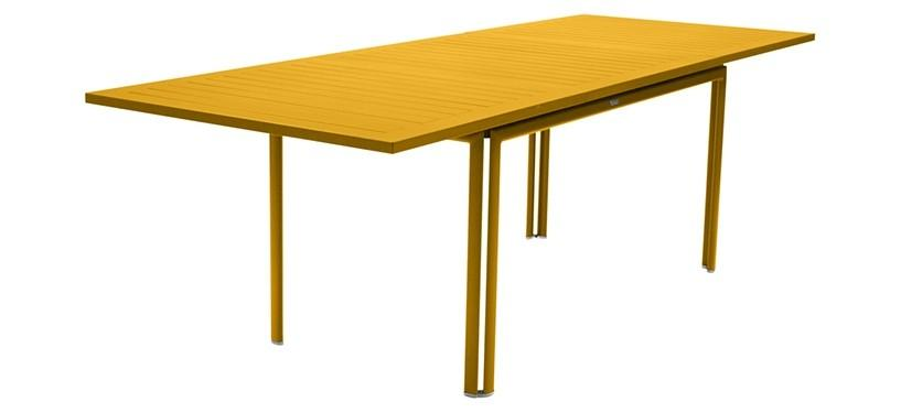 Fermob Costa Table with Extension · Honey